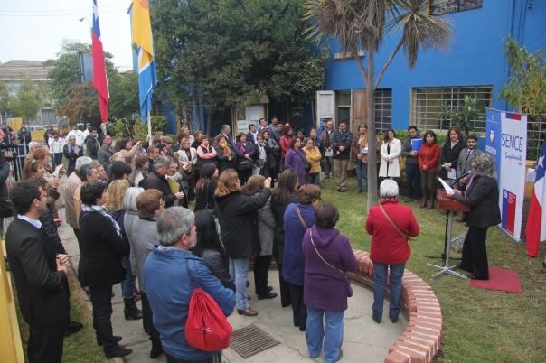 ALCALDESA VIRGINIA REGINATO -Punto Prensa OMIL, Día del Trabajador